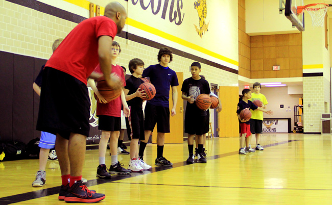 Coach Gambles at Winter Academy 2012. Every Sunday through March 3rd.