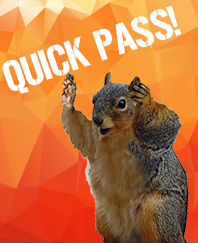 Quick Pass! Sign up verbally and ask any questions.